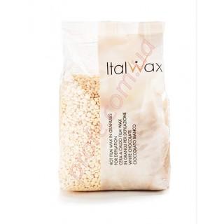 Горячий воск ItalWax Белый шоколад (пленочный в гранулах), 1 кг