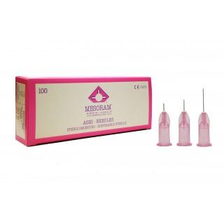 Иглы для мезотерапии Mesoram 32G 0.23*12 mm