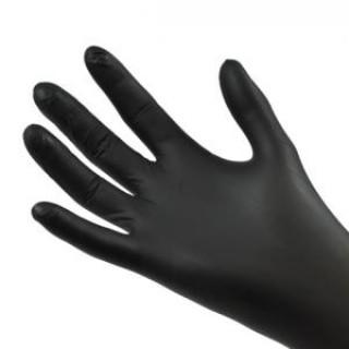 """Перчатки нитрил черные Medicom """"Safe-Touch"""", 100шт"""